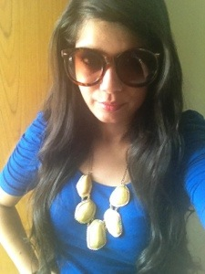 neckpiece indian fashion blogger
