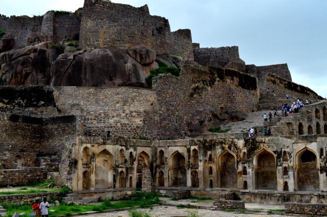 Golkonda Fort best indian travel lifestyle blog