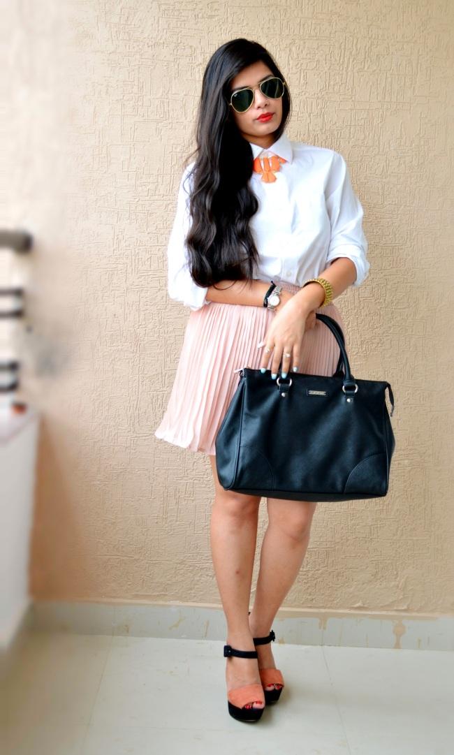 boyfriend shirt top fashion blogger
