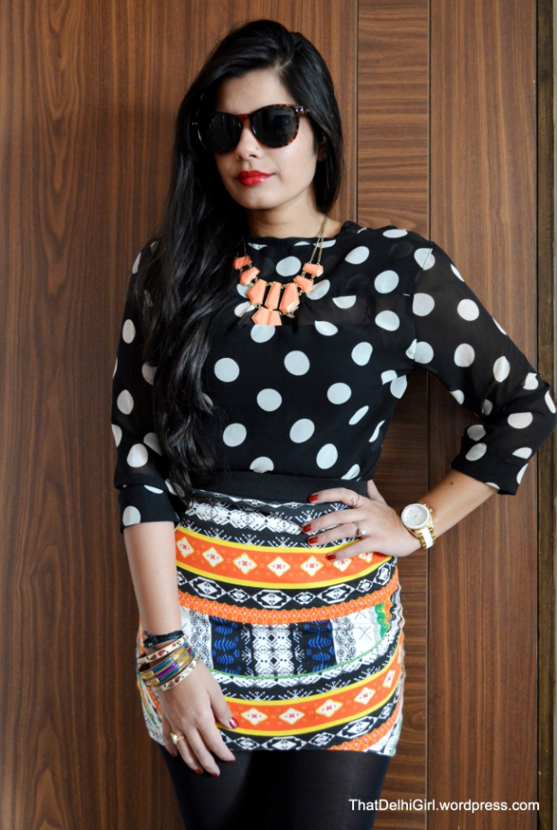fall fashion best indian fashion blogger print on print