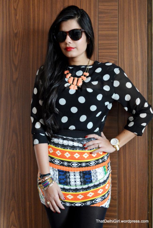 fall fashion best indian fashion blogger print on print
