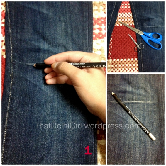 DIY ripped jeans best indian blog best indian fashion blogger top style blog
