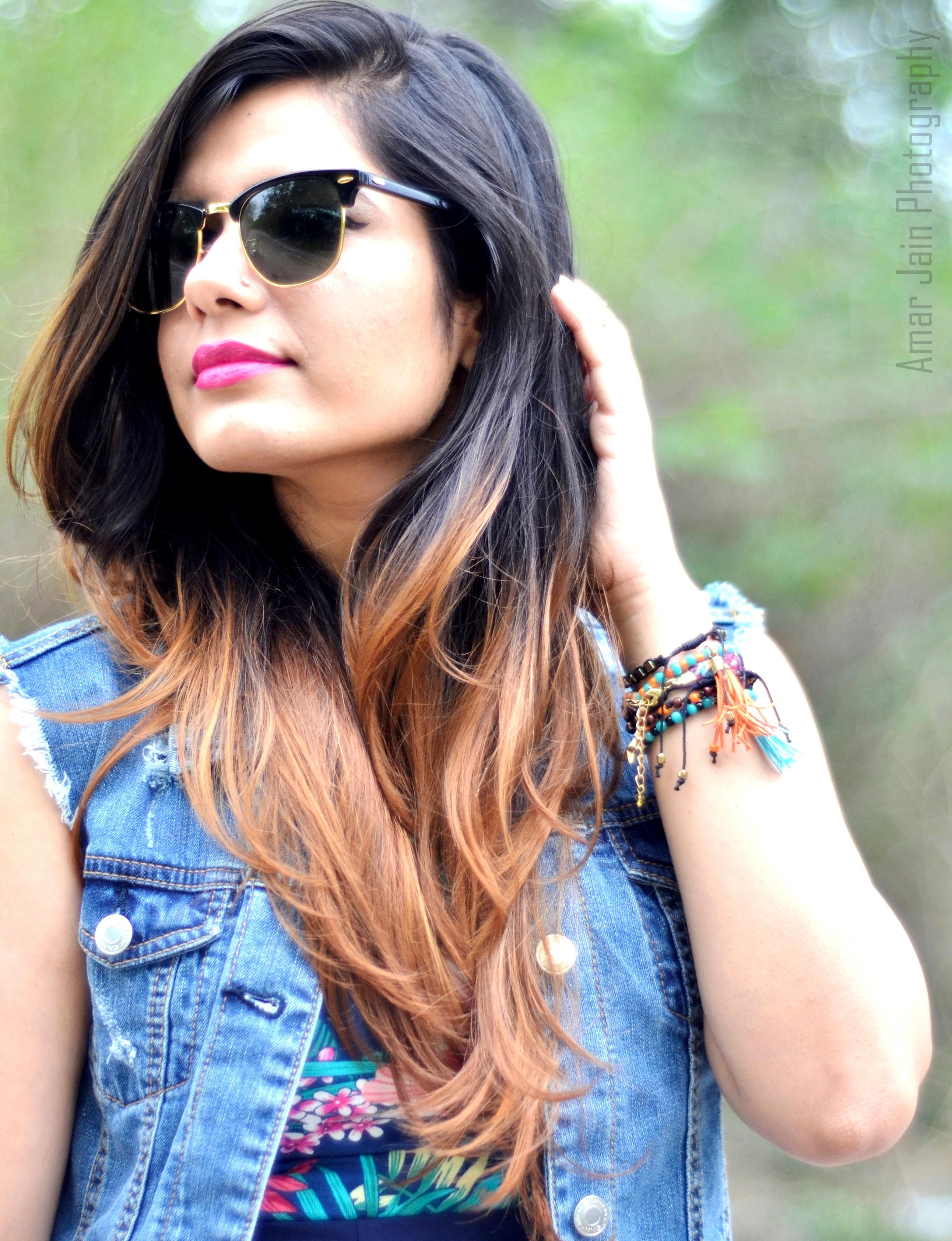 Astonishing Ombre Hair That Delhi Girl Short Hairstyles Gunalazisus